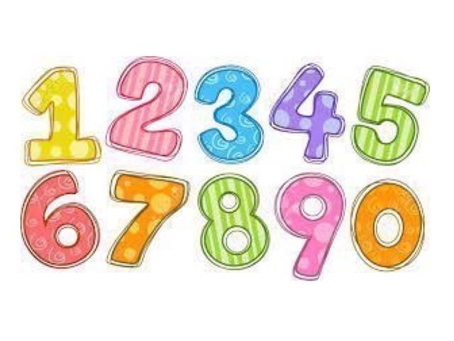 Numbers by Nebal Khoury