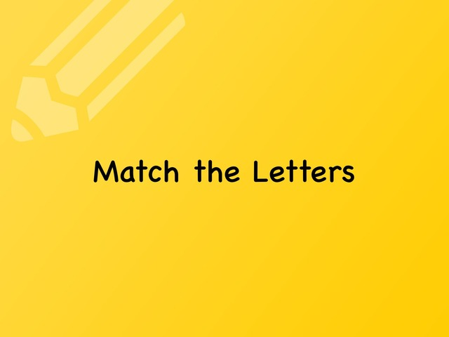 Match Letters by Moses Sia