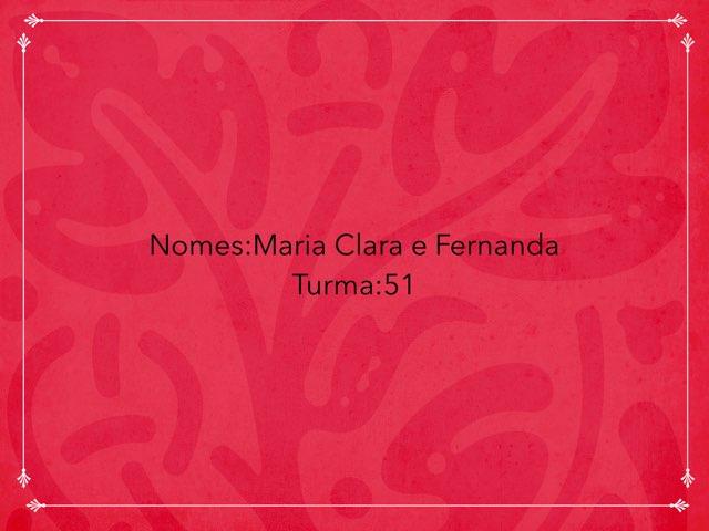 Maria Fernanda by Rede Caminho do Saber