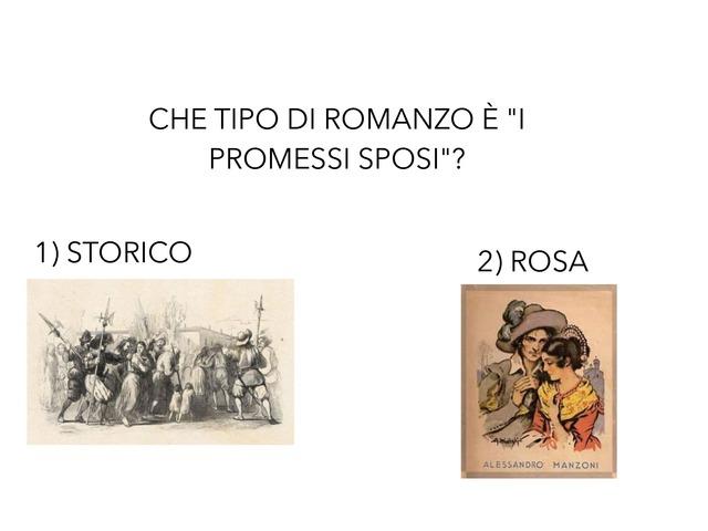 Verifica Promessi Sposi by Valeria Lombardi