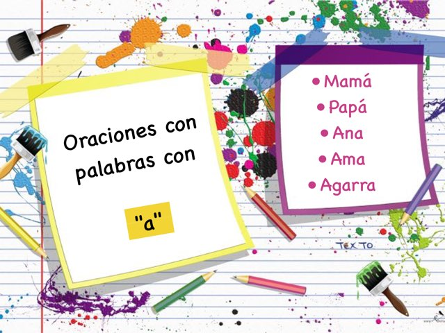 TECC Oraciones A by Sara Burgueño Peña