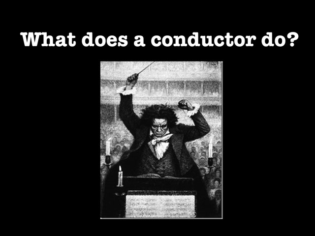 Orchestra Conductors by Jennifer Wentworth