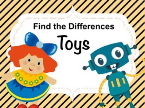 Find The Differences - Toys by Ellen Weber