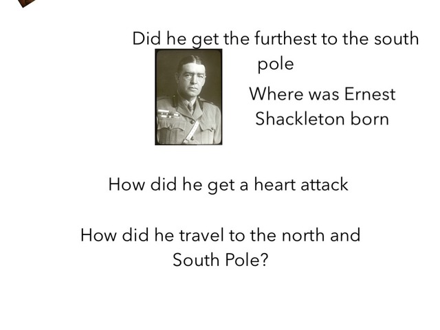 About Ernest Shackleton by Birdwell Year2