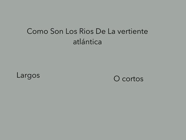 Como Son Los Rios De Atlántica  by Gonzalo Vega Beltran