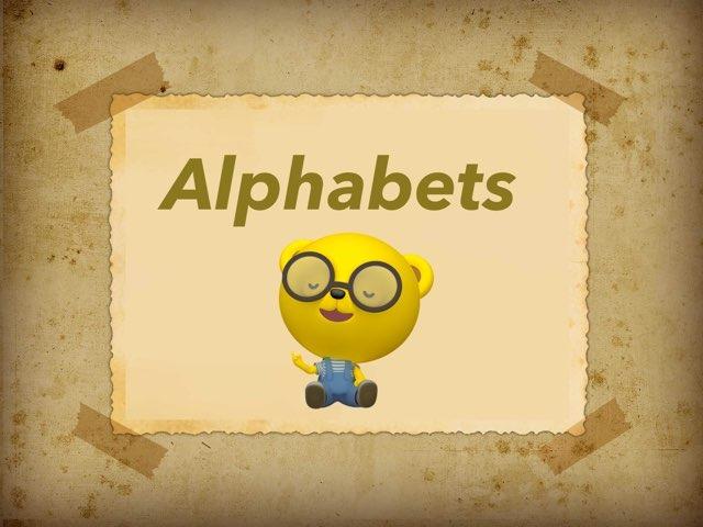 Alphabets  by Karan Pillai