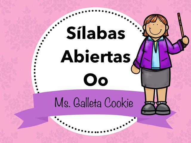 Lee Las Sílabas Con La Oo by Ms. Galleta Cookie