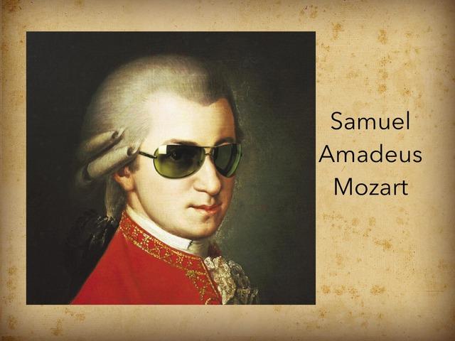 Samuel Amadeus Mozart by Samuel Lugilde