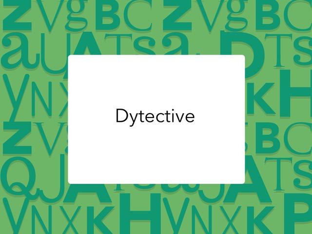 Dytective by Marina Romero