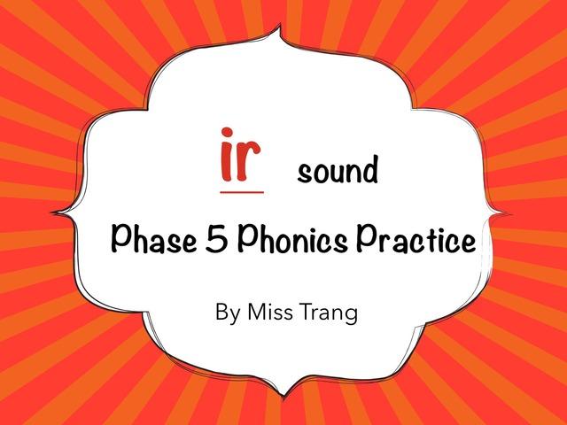 ir sound Practice by Trang Quỳnh