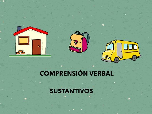Identificar Palabras.Comprensión Verbal by Francisca Sánchez Martínez