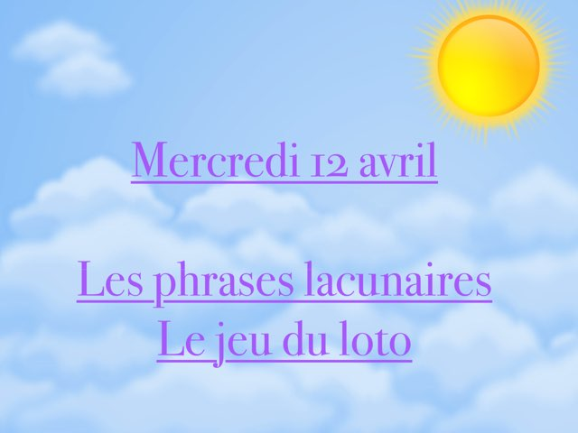 L - Mer12 - Phrases Et Loto  by Caroline Gozdek
