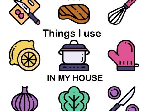 Things In My House by Teresa Grimes