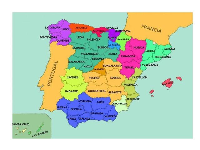 Comunidades Y Provincias by PabloNicolas Valverde Mendez