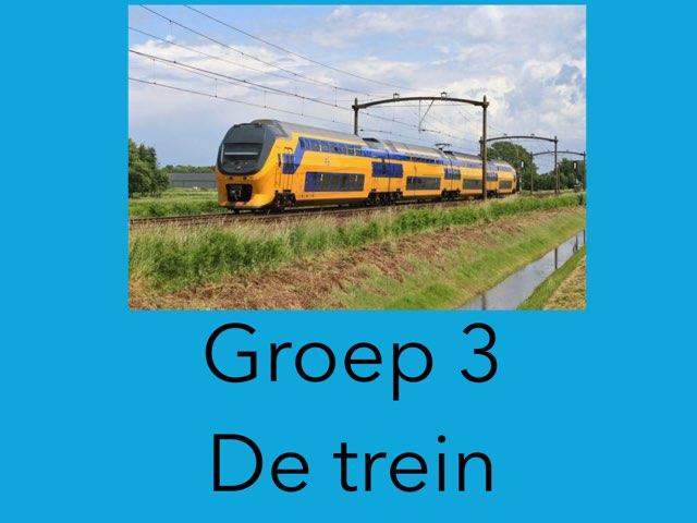 Groep 3 De trein by Wieke Jasper