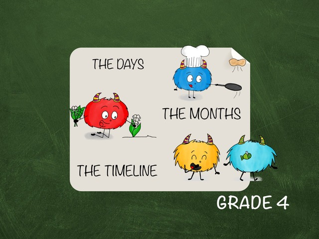 Days - Months - Timeline by Laurence Micheletti
