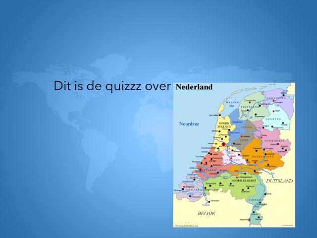 Quizz Van NL  by Jens De kock