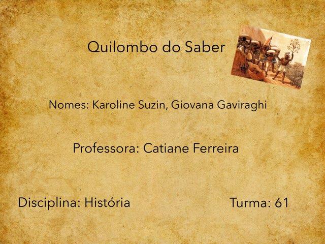 Karol E Gih by Rede Caminho do Saber