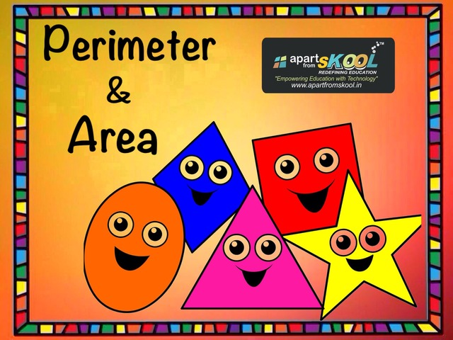 Perimeter And Area by TinyTap creator