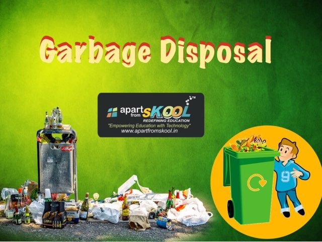 Garbage Disposal by TinyTap creator