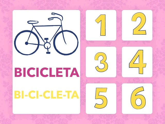 Quantas sílabas tem a palavra BICICLETA? by Tainá Micaela da Silva