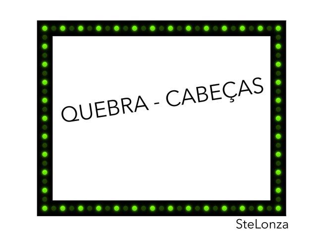 Quebra Cabeças - Julian by ۞Ste Lonza