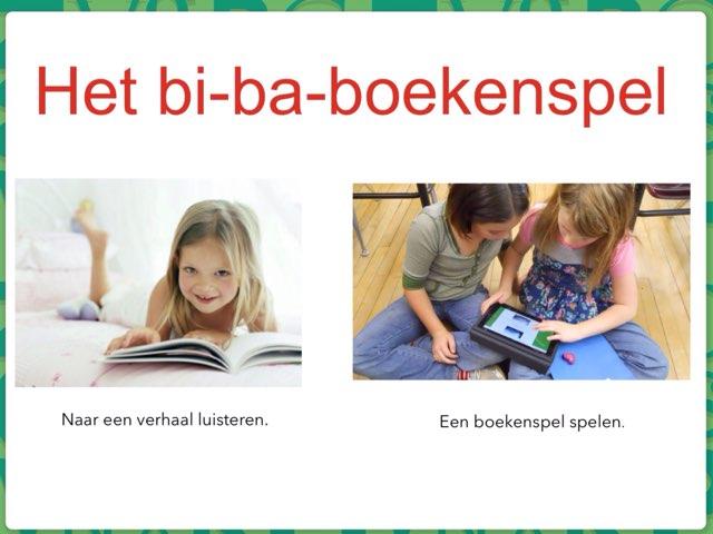 Het Bi-ba-boekenspel  by Hanne Dewachtere