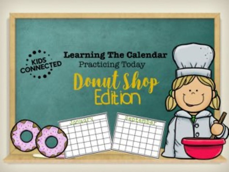 Calendar: Find Today Donut Shop Edition by Kids  Connected