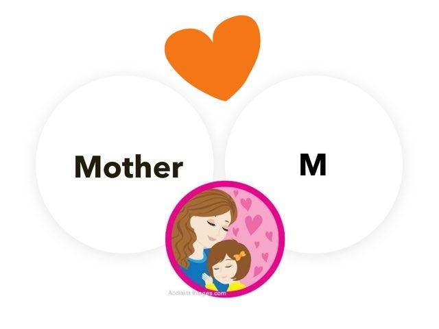 كلمة Mother والحرف M by Omhaiouna Saad