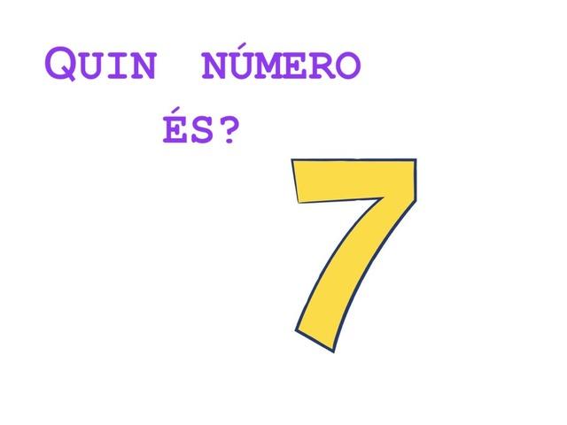 QUIN NÚMERO ÉS?  by Sara Vazquez