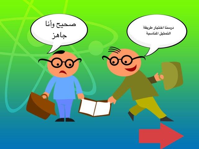 اختيار طريقة التمثيل المناسبة  by areej fahad
