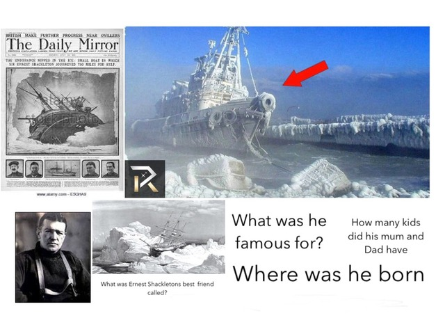 The Best pictures about Shackleton  by Birdwell Year2
