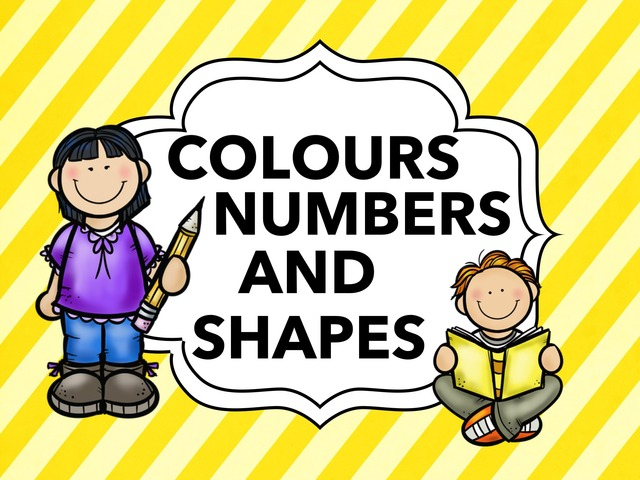 Colours, Noumbers and Shapes by Alejandro gil benitez