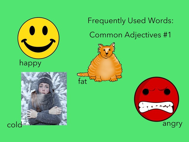 Common Adjectives #1 by Carol Smith