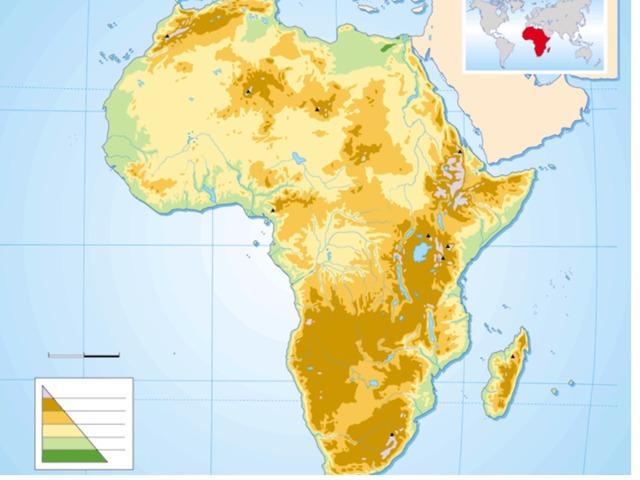 Relieve De África by Carla García