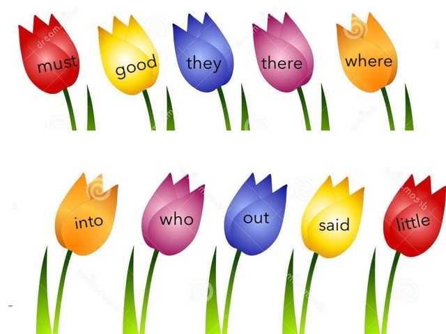 Some Spring Sight Words! by Erica Vogt