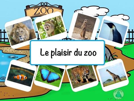 Le plaisir du zoo by Catherine Davies