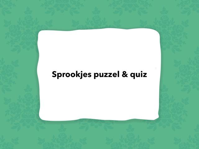 Sprookjes Puzzel & Quiz  by Stacey Schaeken