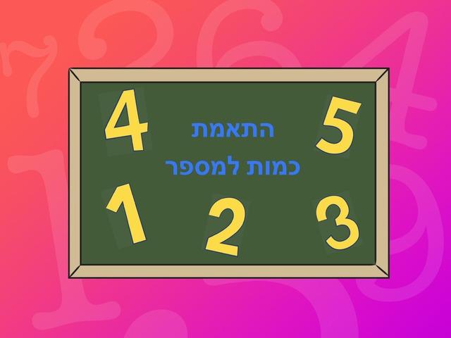 התאמת כמות  למספר by תאיר ליבוביץ'