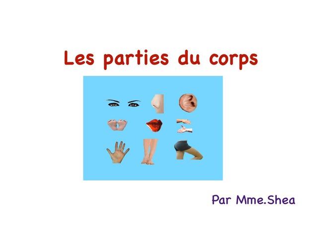 Les Parties Du Corps by Koa Shea
