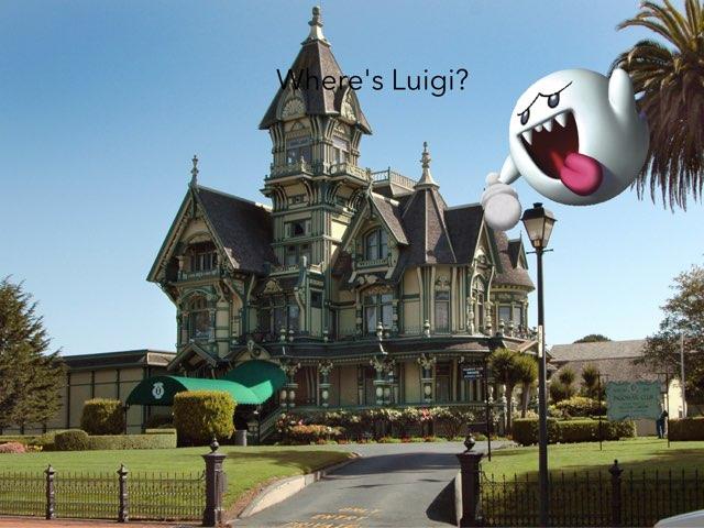 Where's Luigi by Jack Fletcher