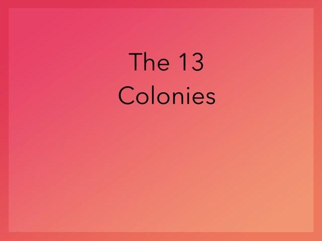 13 Colonies-2 by Jo-Ann Lizon