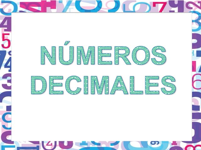 Decimales by Esther Cortés Martínez