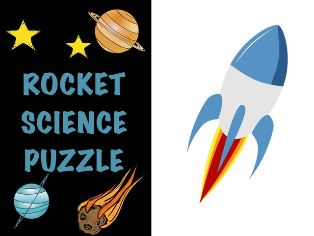 Rocket Science Puzzle by Hadi  Oyna