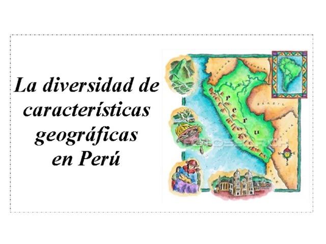 Cloze: Características geográficas en Perú by Allison Shuda