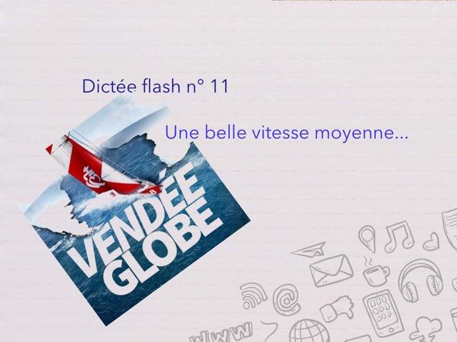 Dictée Flash N° 11 by Cédric Houbrechts