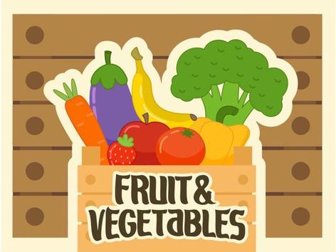 Fruit & Vegetables (EN UK) by Tiny Tap