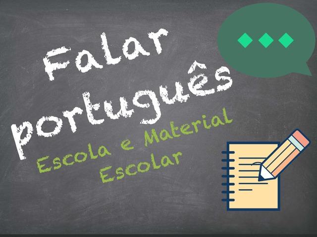 Falar Português (Escola e Material Escolar) by Inês Ruxa