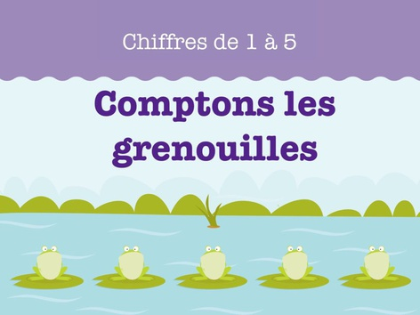 Comptons les grenouilles by Miss Humblebee