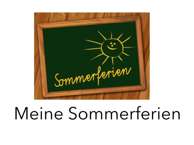 Sommerferien  by Nadja Blust